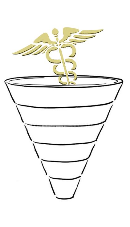 Воронка продаж - продвижение медицинских наук